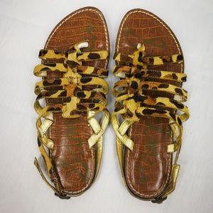 🌶3/$20 Sam Edelman Calf Hair Sandals Women's 7